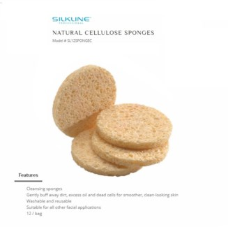 DA SL 100% NATURAL CELLULOSE SPONGES 12/PKG