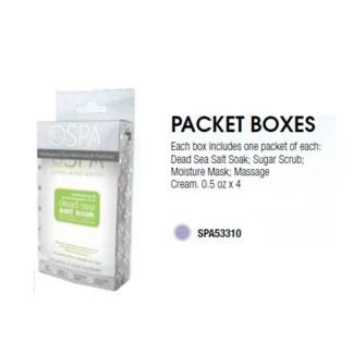 DA LAVENDER PACKET BOX
