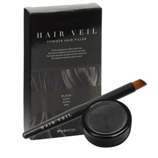 FHI HAIR VEIL BLACK POWDER HAIR FILLER