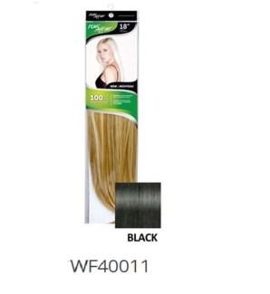 """FIRST LADY HAIR AFFAIR 18"""" 8PC CLIP-IN 1HH BLACK"""