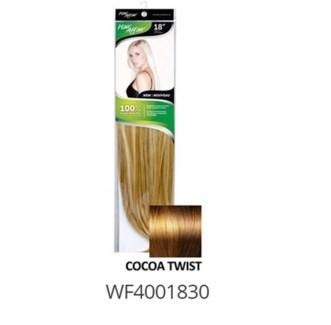 "FIRST LADY HAIR AFFAIR 18"" 8PC CLIP-IN 8/30 COCOA TWIST"