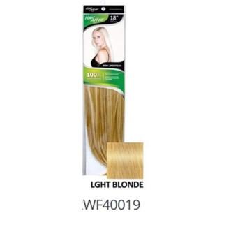 "FIRST LADY HAIR AFFAIR 18"" 8PC CLIP-IN 9HH LGHT BLONDE"