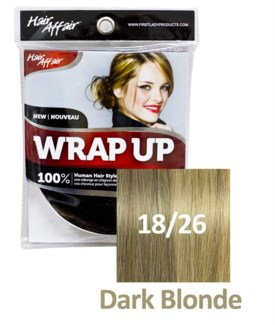 FIRST LADY HAIR AFFAIR WRAP UP #18/26 DARK BLONDE