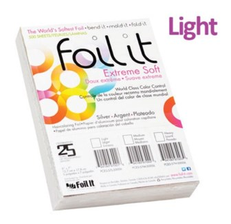 FOIL IT EXTREME SOFT SILVER FOIL LIGHT 5 X 7 1000/SHEETS