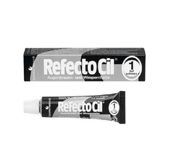 DISC//CBON REFECTOCIL CREAM EYELASH TINT BLACK #1