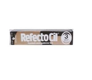 DISC//CBON REFECTOCIL CREAM EYELASH TINT NATURAL BROWN #3