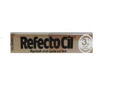 DISC//CBON REFECTOCIL CREAM EYELASH TINT LIGHT BROWN #3.1