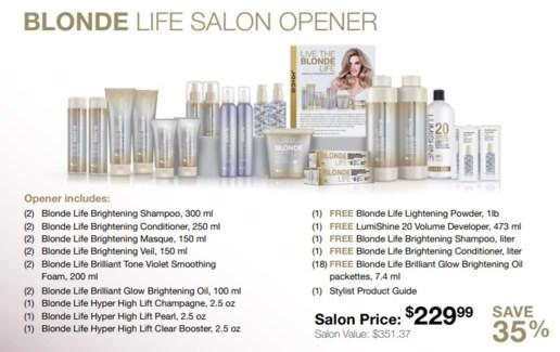 JO BLONDE LIFE SALON OPENER//SO'18