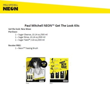 PM NEON NEW WAVE GET THE LOOK KIT
