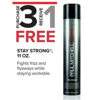 PM STAY STRONG EXPRESS DRY 366ML 3 + 1 NC//SO'18