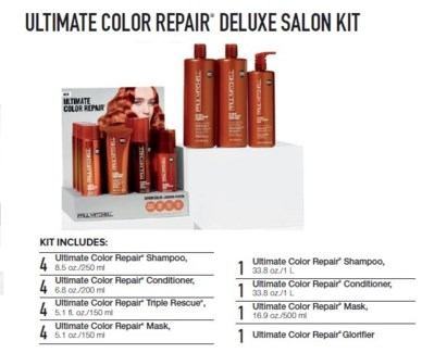 PM ULTIMATE COLOR REPAIR DELUXE SALON KIT (UCMSLN16)//2018