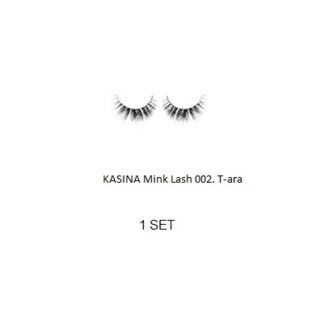 KASINA MINK LASHES - T - ara - 1 SET