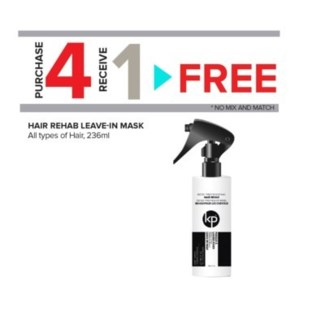 KODE 4+1 HAIR REHAB LEAVE-IN MASK 236ML//ND'18