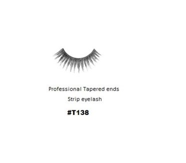 KASINA PRO LASH - TAPERED ENDS - STRIP EYELASH #T138-1 SET