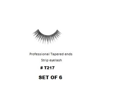KASINA PRO LASH - TAPERED ENDS - STRIP EYELASH #T217-6 SETS