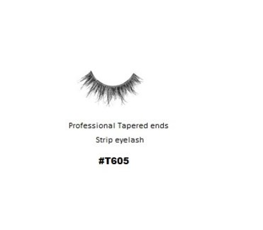 KASINA PRO LASH - TAPERED ENDS - STRIP EYELASH #T605-1 SET