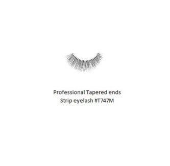 KASINA PRO LASH - TAPERED ENDS - STRIP EYELASH #T747M-1 SET