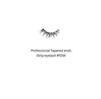 KASINA PRO LASH - TAPERED ENDS - STRIP EYELASH #TDW-1 SET