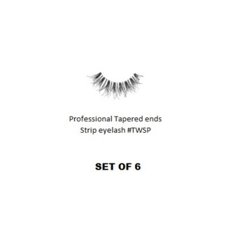 KASINA PRO LASH - TAPERED ENDS - STRIP EYELASH #TWSP-6 SETS