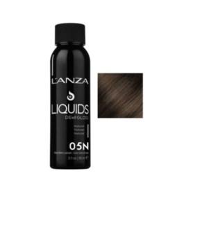 L'ANZA HC LIQUIDS DEMI GLOSS 5N LIGHT NATURAL BROWN 90ML