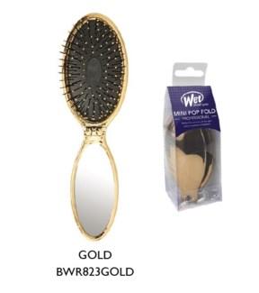 WET BRUSH - MINI POP FOLD - GOLD