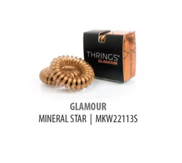 THRINGS - HAIR RINGS - GLAMOUR - MINERAL STAR - 2PC