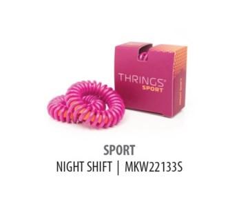THRINGS - HAIR RINGS - SPORT - NIGHT SHIFT - 2PC