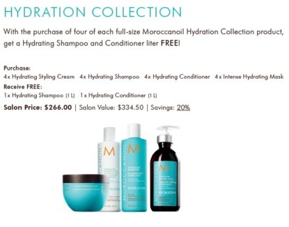 MO HYDRATION COLLECTION INTRO PACKAGE//2018