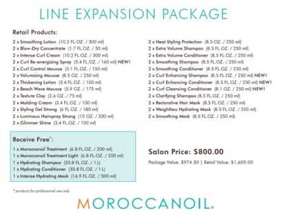 MO LINE EXPANSION PACKAGE//2017