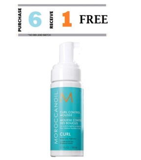 MO 6 + 1 CURL CONTROL MOUSSE 150ML//MAR-DEC 18