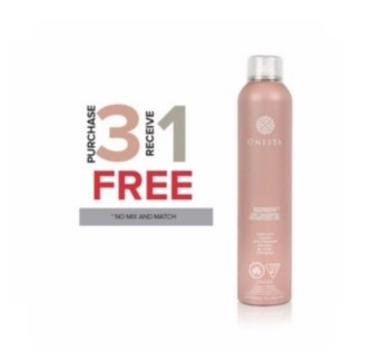 ONESTA 3 + 1NC REFRESH DRY SHAMPOO7OZ  //SO'18