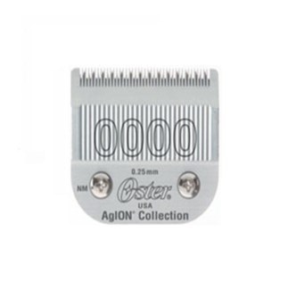 OS BLADE SIZE 0000 STAINLESS STEEL CLASSIC
