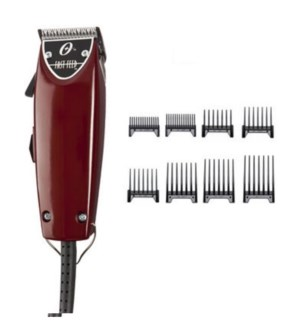 OSTER FAST FEED CLIPPER W/ 8 PACK GUIDE COMBS//ND'18