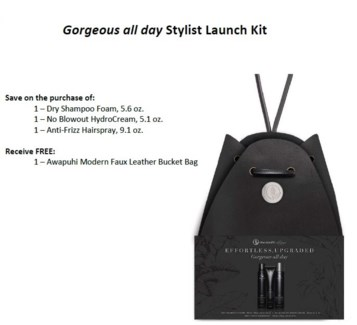 PM AWG GORGEOUS ALL DAY STYLIST LAUNCH KIT//SO'18