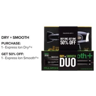 PM EXPRESS ION DRY+ (PLUS) W/ ION SMOOTH+//SO'18