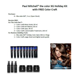 PM TC XG HOLIDAY KIT W/ 8 PM TC XG TUBES//HD'18
