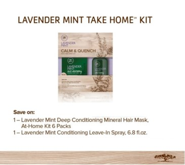 DISC// PM TT LAVENDER MINT TAKE HOME KIT//2017