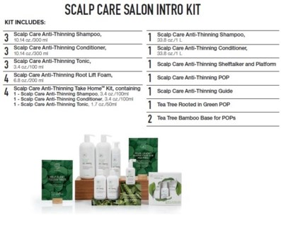 PM TT SCALP CARE SALON INTRO KIT (TATIK18)//2018
