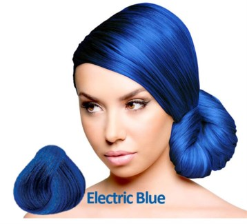 SPARKS ELECTRIC BLUE HAIR COLOR