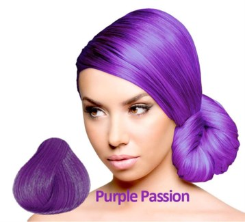 SPARKS PURPLE PASSION HAIR COLOR
