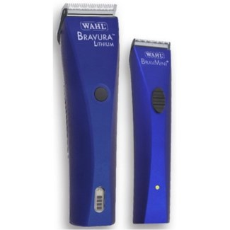 WAHL LITHIUM  BRAVURA/BRAVMINI+ COMBO - ROYAL BLUE