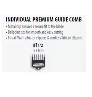 WAHL PREMIUM CUTTING GUIDE #1 1/2