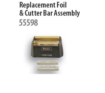 WAHL 5 STAR FOIL/CUTTER BAR ASSEMBLY FOR 55599 FINALE