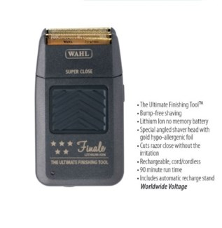 WAHL 5 STAR LITHIUM CORD/CORDLESS FINALE SHAVER