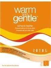 ZO WARM & GENTLE PERM - TINTED (ORANGE)
