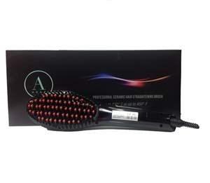 ABAA PROFESSIONAL CERAMIC HAIR STRAIGHTENING BRUSH
