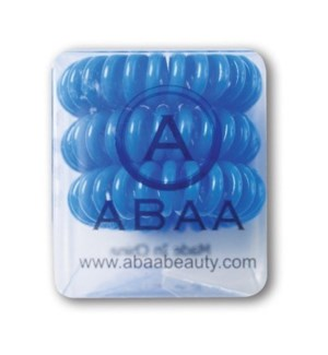 ABAA HAIR RING (SET OF 3) BLUE