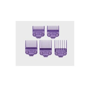 ANDIS MAGNETIC 5 GUIDE SET PURPLE - SMALL