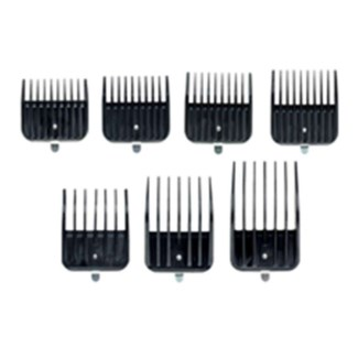 ANDIS BG SNAP-ON 7PC BLADE COMBS