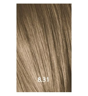 YE COLOR 8.31 LIGHT GOLDEN ASH BLONDE 100ML